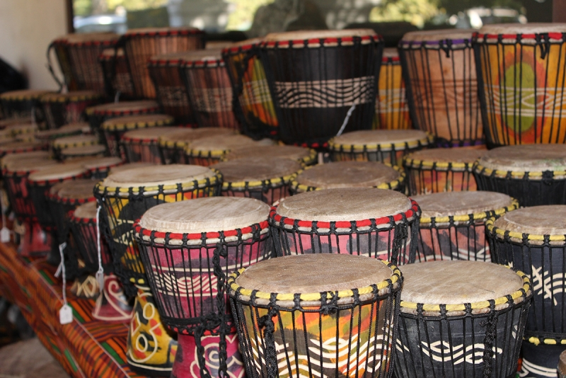 Drums Tribal Arts Shopping